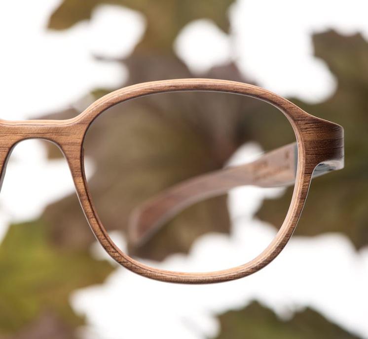 lunettes en bois lille